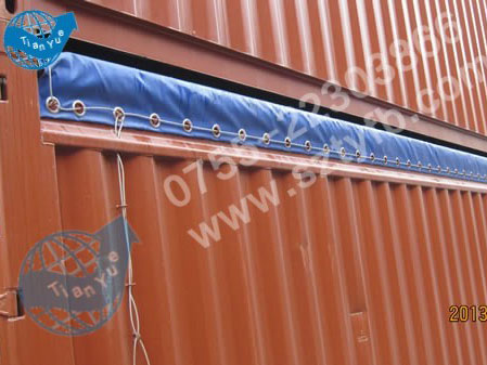 Containers tarp